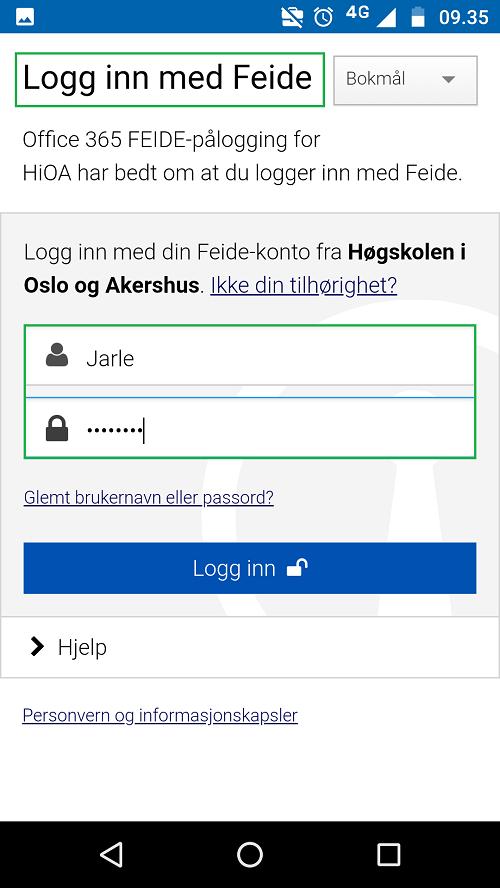 E-post i Office 365 for Android | Brukerstøtte IT - Tilsatt